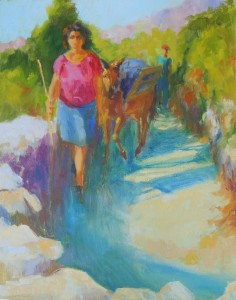 Coming Home 2, 20x16, oil on linen, #436